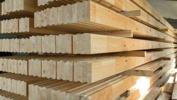 Drewno klejone warstwowo - właściwości drewna BSH